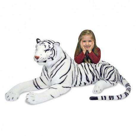 "Мягкая игрушка ""Белый Тигр"" 170х51 см."