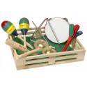 Музык. инструменты в коробке