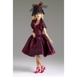 Evangeline - шляпка Вино и розы