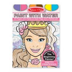 """""""Творчество"""" Водная раскраска- принцессы"""