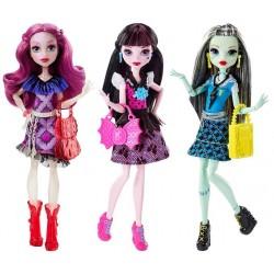 «Школа монстров» Главные персонажи в модных нарядах