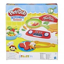 Игровой набор пластилина: кухонная плита