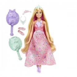 Barbie® Принцессы с волшебными волосами