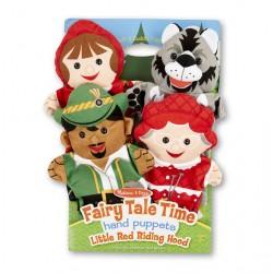 Плюшевые куклы - Красная шапочка