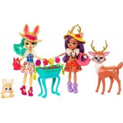 Enchantimals® Набор из двух кукол с любимыми зверюшками