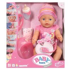 BABY born Кукла Интерактивная, Soft Touch , 43 см